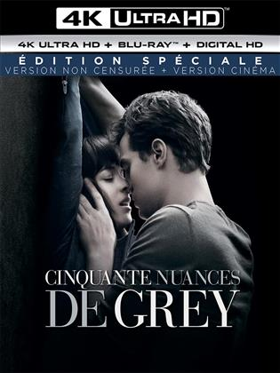 Cinquante nuances de Grey (2015) (Version non censurée, Kinoversion, Special Edition, 4K Ultra HD + Blu-ray)