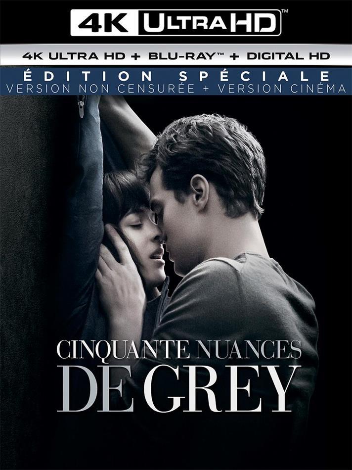 Cinquante nuances de Grey (2015) (Version non censurée, Kinoversion, Special Edition, 4K Ultra HD + Blu-ray)