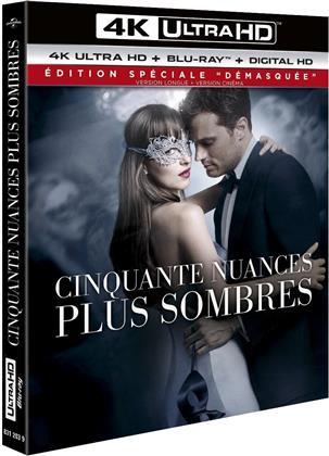 """Cinquante nuances plus sombres (2017) (Édition Spéciale """"Démasquée"""", Kinoversion, Langfassung, 4K Ultra HD + Blu-ray)"""