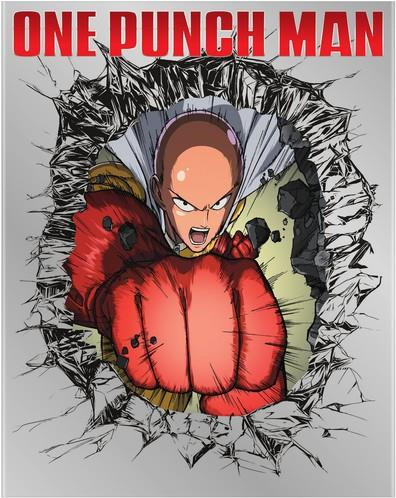 One - Punch Man - One - Punch Man (4PC) (W/DVD) (2 Blu-rays + 2 DVDs)