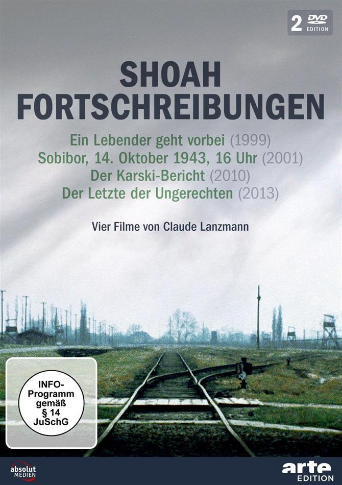 Shoah Fortschreibungen - Vier Filme von Claude Lanzmann (Arte Edition, 2 DVDs)
