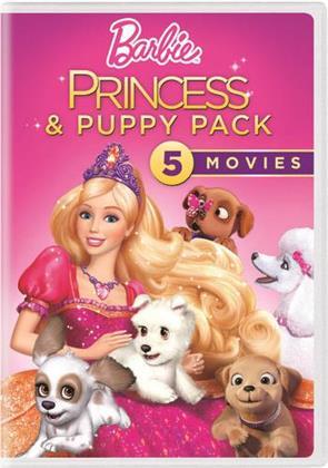 Barbie - Princess & Puppy Pack (5 Movies, 5 DVDs)