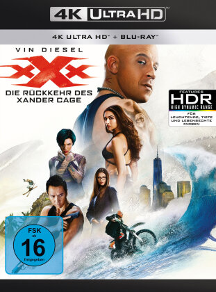 xXx - Triple X 3 - Die Rückkehr des Xander Cage (2017) (4K Ultra HD + Blu-ray)