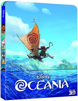 Oceania (2016) (Steelbook, Blu-ray 3D + Blu-ray)