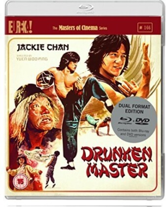 Drunken Master (1979) (Eureka!, Masters of Cinema, DualDisc, Blu-ray + DVD)