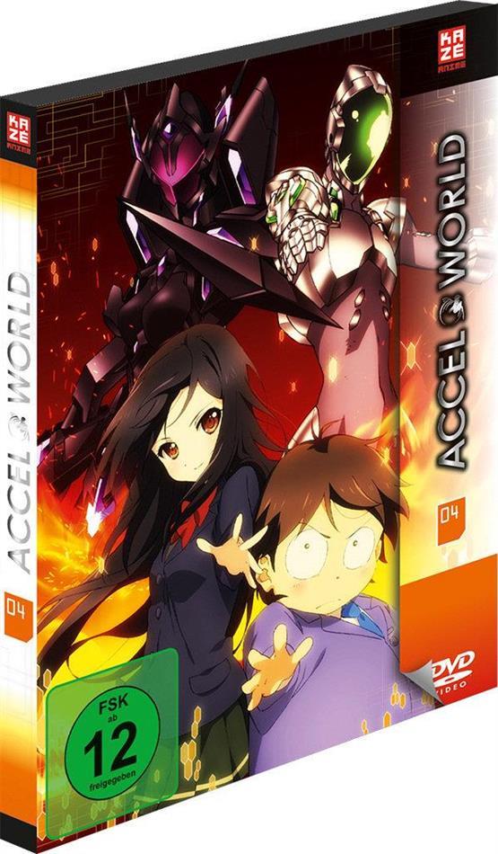 Accel World - Staffel 1 - Vol. 4 (Digibook, 2 DVD)
