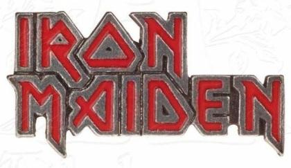 Iron Maiden: Enamel Logo - Ansteck-Button