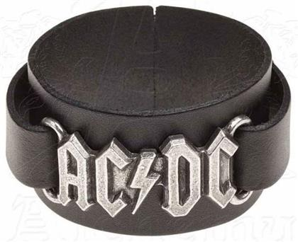 AC/DC - Logo Leather Wristband