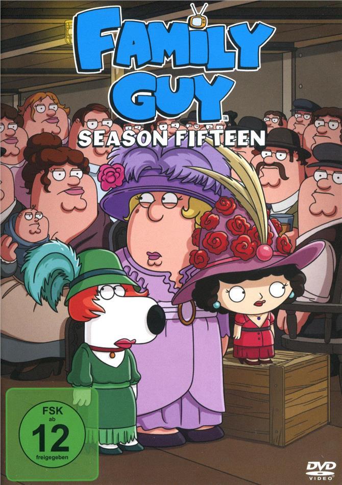 Family Guy - Staffel 15 (Uncut, 3 DVDs)