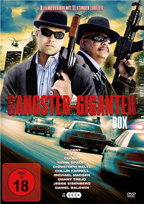 Gangster-Giganten Box - 8 Spielfilme Box (4 DVDs)