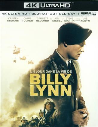 Un jour dans la vie de Billy Lynn (2016) (4K Ultra HD + Blu-ray 3D + Blu-ray)
