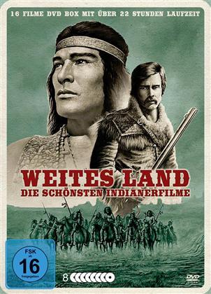 Weites Land - Die schönsten Indianerfilme (Metallbox, 8 DVDs)