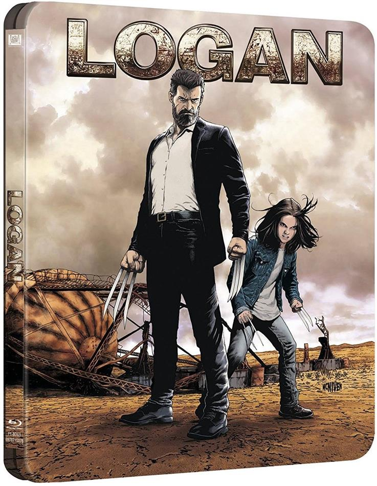 Logan - The Wolverine (2017) (Noir Version, Kinoversion, Limited Edition, Steelbook, 2 Blu-rays)