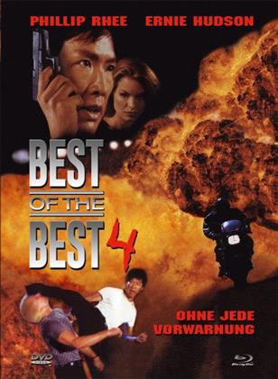 Best of the Best 4 - Ohne jede Vorwarnung (1998) (Cover A, Limited Edition, Mediabook, Uncut, Blu-ray + DVD)