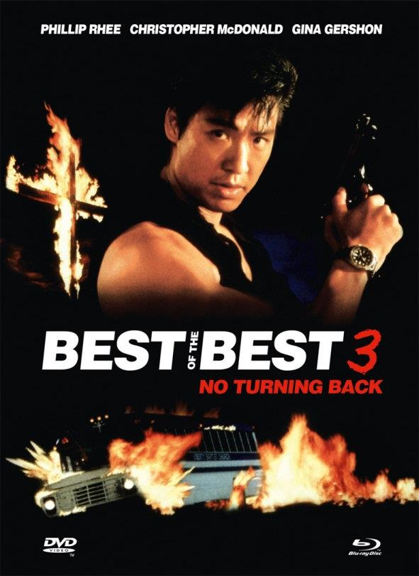 Best of the Best 3 - No Turning Back (1995) (Cover A, Limited Edition, Mediabook, Uncut, Blu-ray + DVD)