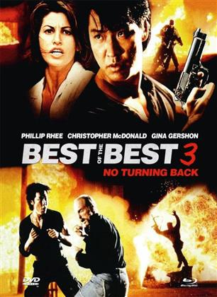Best of the Best 3 - No Turning Back (1995) (Cover B, Limited Edition, Mediabook, Uncut, Blu-ray + DVD)