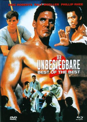Best of the Best 2 - Der Unbesiegbare (1993) (Cover A, Limited Edition, Mediabook, Uncut, Blu-ray + DVD)