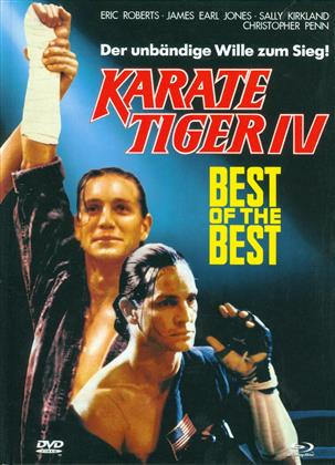 Best of the Best 1 - Karate Tiger IV (1989) (Cover A, Limited Edition, Mediabook, Uncut, Blu-ray + DVD)
