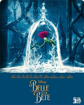La Belle et la Bête (2017) (Edizione Limitata, Steelbook, Blu-ray 3D + Blu-ray)