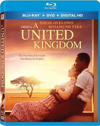 A United Kingdom (2016) (Blu-ray + DVD)