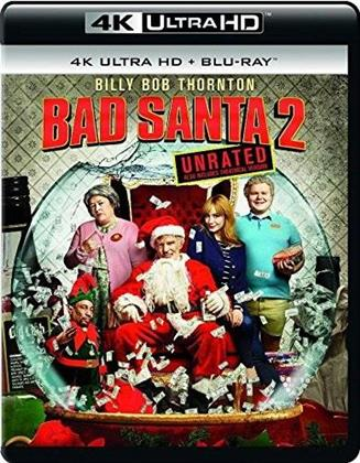 Bad Santa 2 (2016) (Unrated, 4K Ultra HD + Blu-ray)