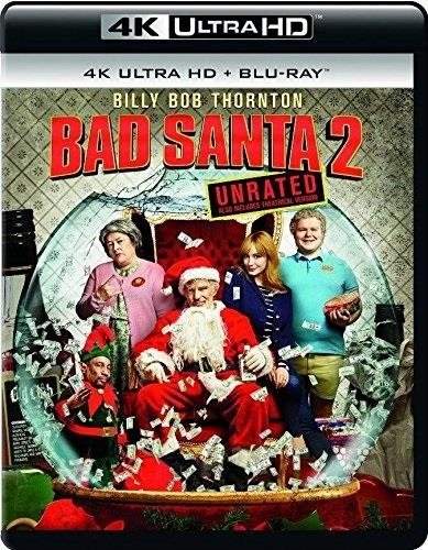 Bad Santa 2 (2016) (Unrated, 4K Ultra HD + Blu-ray)