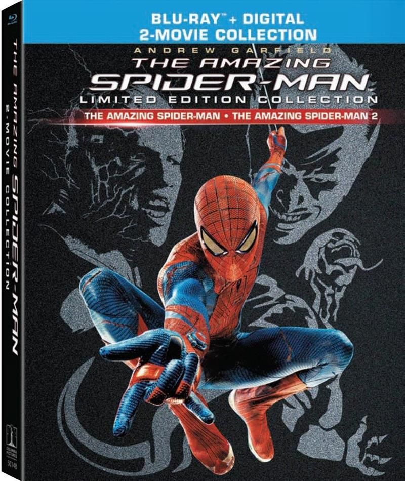 The Amazing Spider-Man / The Amazing Spider-Man 2 (2-Movie Collection, Digibook, Limited Edition, 3 Blu-rays)