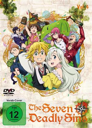 The Seven Deadly Sins - Staffel 1 - Vol. 4 (2 DVDs)
