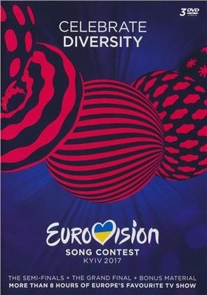 Various Artists - Eurovision Song Contest 2017 - Kyiv (3 DVD)