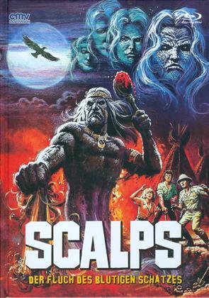 Scalps - Der Fluch des blutigen Schatzes (1983) (Cover A, Limited Edition, Mediabook, Uncut, Blu-ray + DVD)