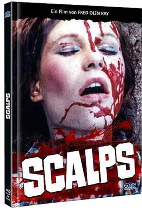 Scalps (1983) (Cover B, Limited Edition, Mediabook, Uncut, Blu-ray + DVD)