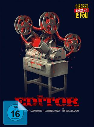 The Editor (2014) (Pierrot Le Fou, Limited Edition, Mediabook, Uncut, Blu-ray + DVD)