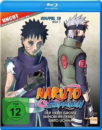 Naruto Shippuden - Staffel 18 Box 1 (Uncut, 2 Blu-rays)