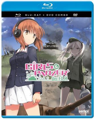 Girls & Panzer - Der Film (Blu-ray + DVD)