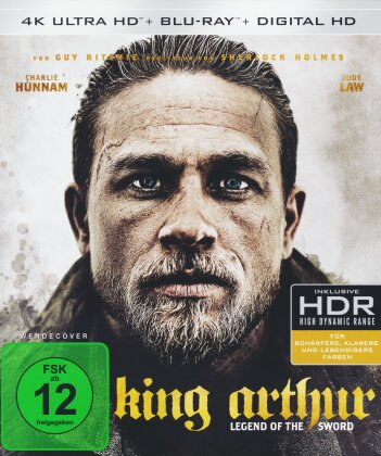 King Arthur - Legend of the Sword (2017) (4K Ultra HD + Blu-ray)