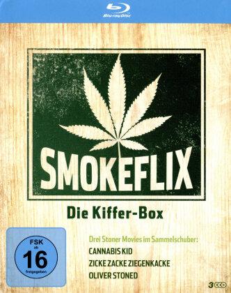 Smokeflix - Die Kiffer-Box (3 Blu-rays)