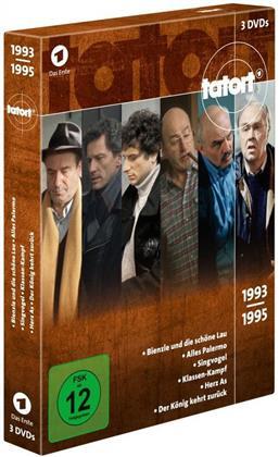 Tatort - 90er Box 2 - Die Jahre 1993 - 1995 (3 DVDs)