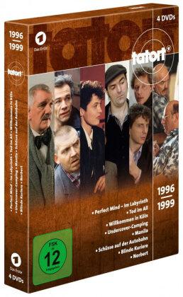 Tatort - 90er Box 3 - Die Jahre 1996 - 1999 (4 DVDs)