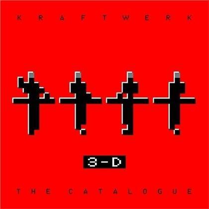 Kraftwerk - 3-D - Der Katalog (4 Blu-ray 3D (+2D) + Buch)