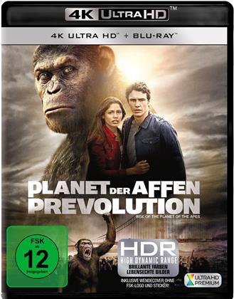 Planet der Affen: Prevolution (2011) (4K Ultra HD + Blu-ray)