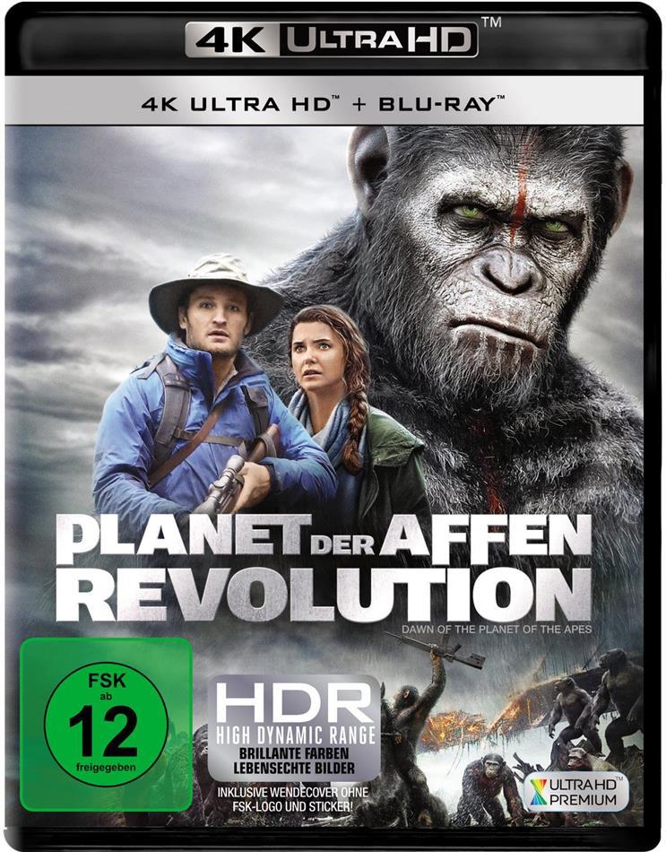 Planet der Affen: Revolution (2014) (4K Ultra HD + Blu-ray)