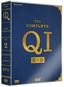 QI: E to G Series (10 DVDs)