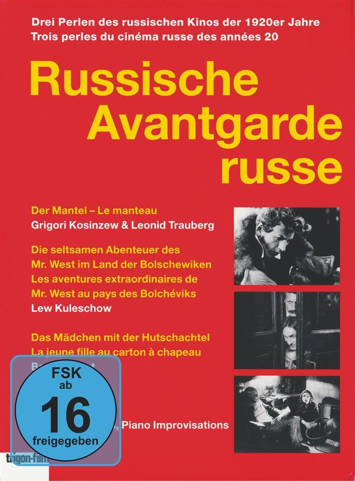 Russische Avantgarde (n/b, 3 DVD)