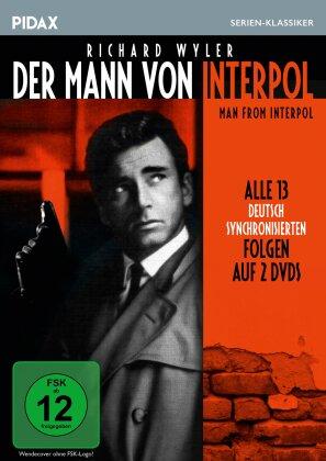 Der Mann von Interpol (Pidax Serien-Klassiker, s/w, 2 DVDs)