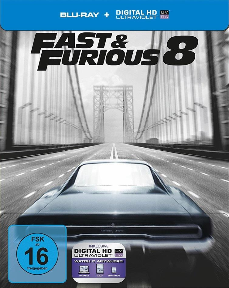 Fast & Furious 8 (2017) (Limited Edition, Steelbook)