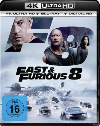Fast & Furious 8 (2017) (4K Ultra HD + Blu-ray)