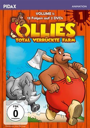 Ollies total verrückte Farm - Vol. 1 (Pidax Animation, 2 DVDs)