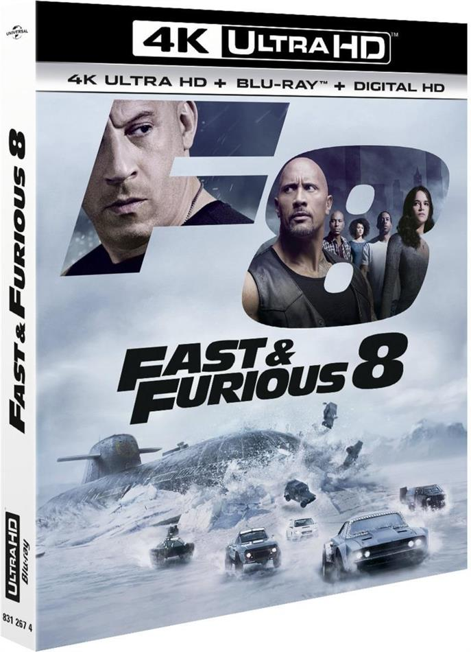 Fast & Furious 8 (2017) (4K Ultra HD + Blu-ray)