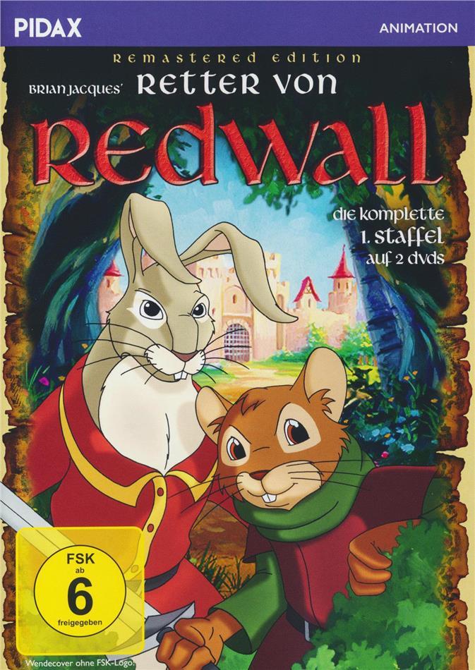 Retter von Redwall - Staffel 1 (Pidax Animation, Remastered, 2 DVDs)