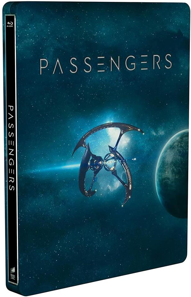 Passengers (2016) (Steelbook, Blu-ray 3D + Blu-ray)